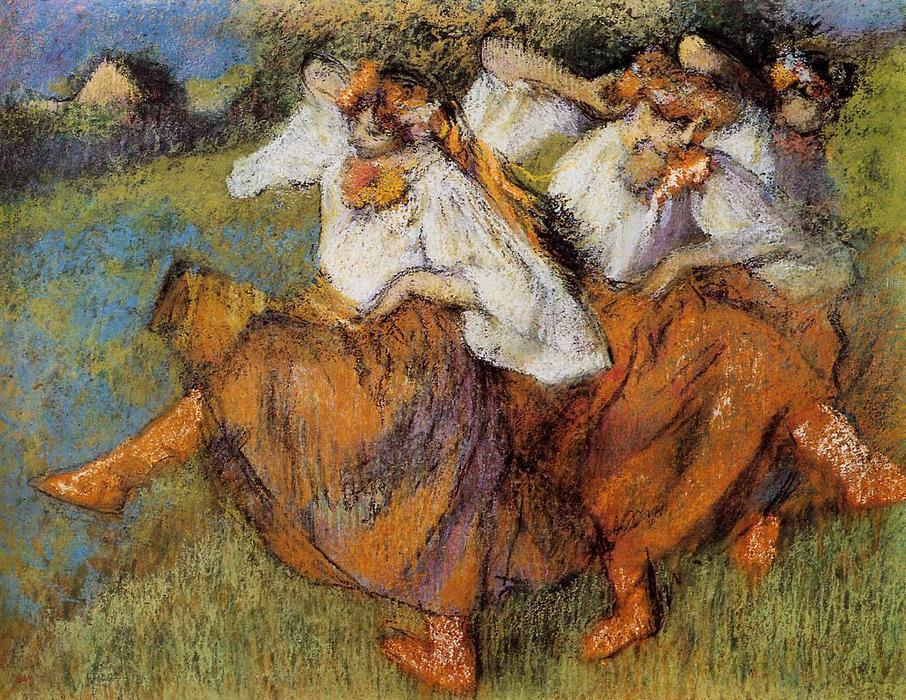 famous painting Russian Dancers of Edgar Degas