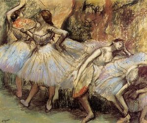 Edgar Degas - Dancers (8)