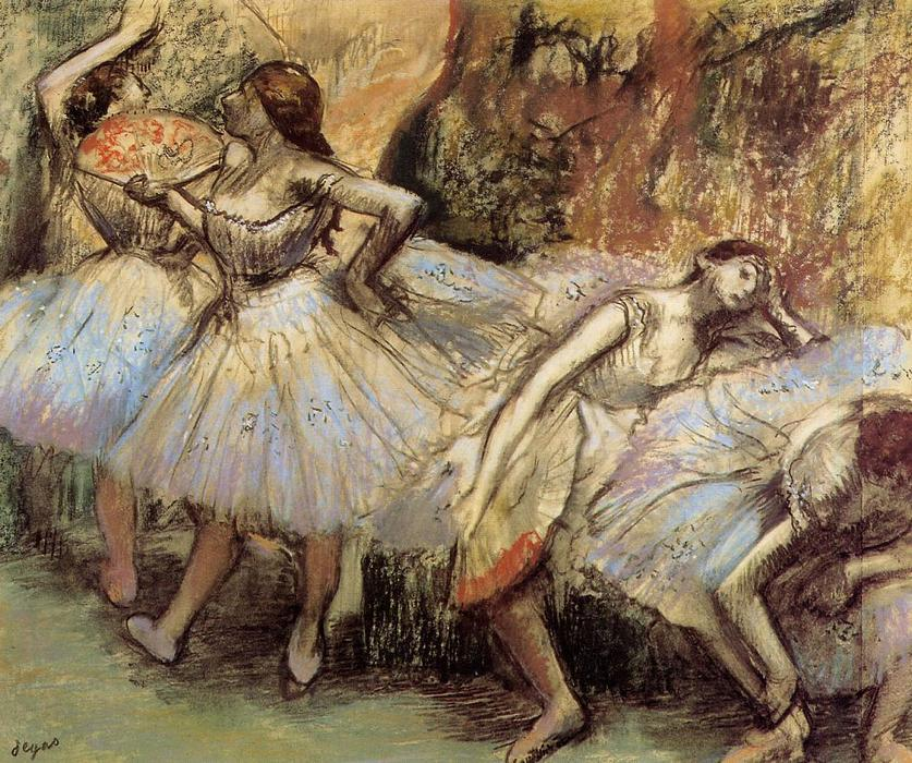 famous painting Dancers (8) of Edgar Degas