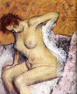 Edgar Degas - After The Bath (13)