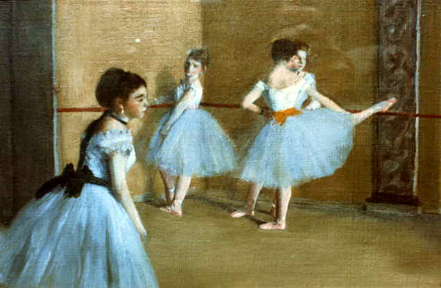 famous painting Dance Opera of Edgar Degas