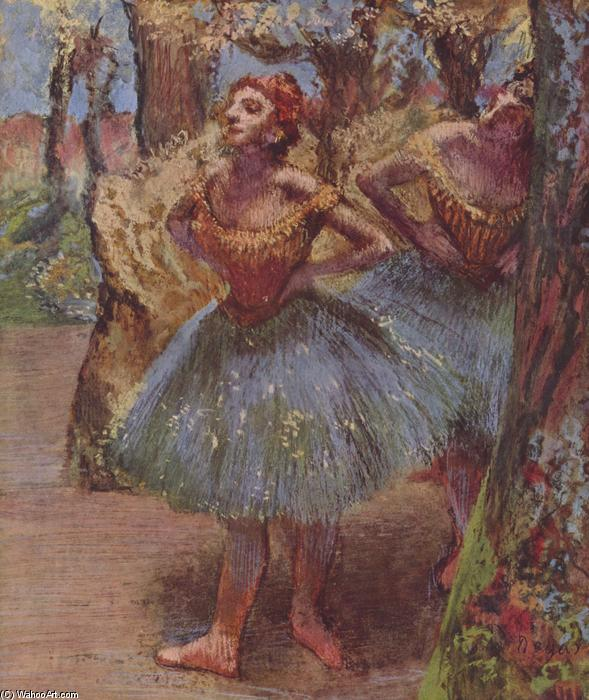 famous painting Dancers (11) of Edgar Degas
