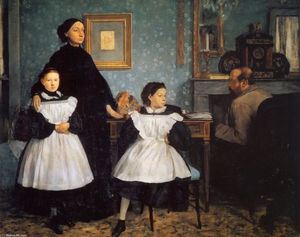 Edgar Degas - The Belleli Family