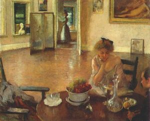 Edmund Charles Tarbell - The Breakfast Room