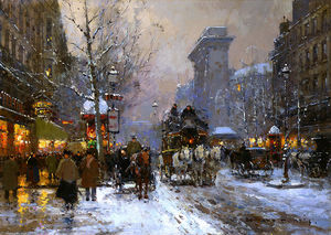 Edouard Cortes - St.Denis, Winter