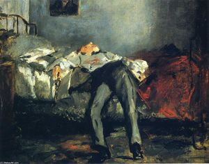 Edouard Manet - The Suicide