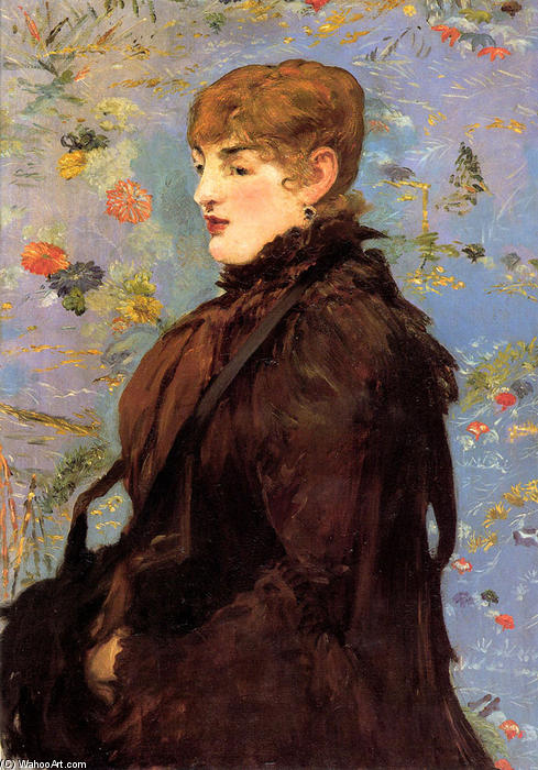famous painting Autumn (Study of Mery Laurent) of Edouard Manet