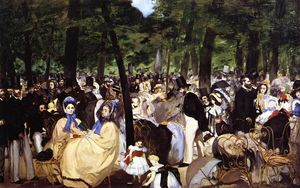 Edouard Manet - Music in the Tuileries Garden