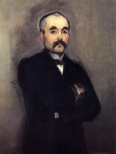 Edouard Manet - Portrait of Georges Clemenceau