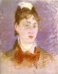 Edouard Manet - A young girl