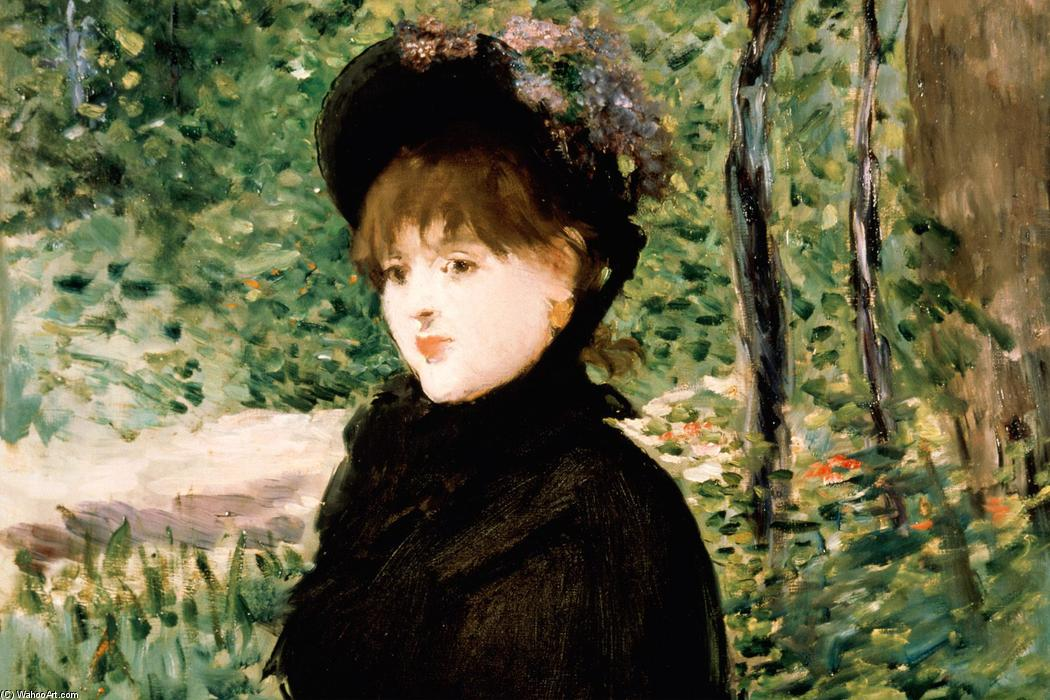 famous painting The stroll of Edouard Manet