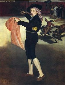 Edouard Manet - Victorine Meurent in the costume of an Espada