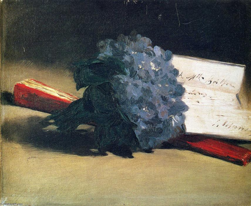 famous painting Bouquet of violets of Edouard Manet
