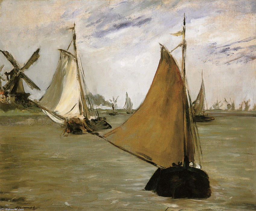 famous painting View of Holland of Edouard Manet