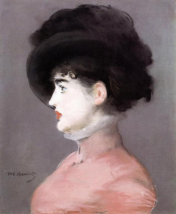 famous painting Portrait of Irma Brunner of Edouard Manet