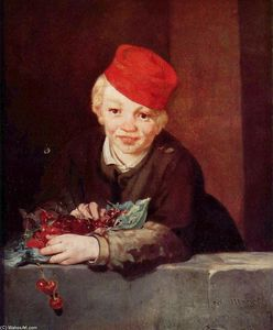 Edouard Manet - The Boy with Cherries
