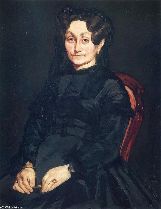 famous painting Madame Auguste Manet of Edouard Manet