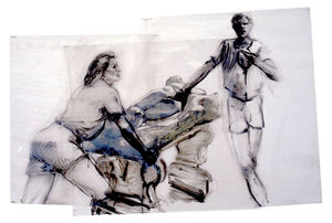 Eric Fischl - Study for Sheer Weight of History