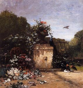 Eugène Louis Boudin - The Garden