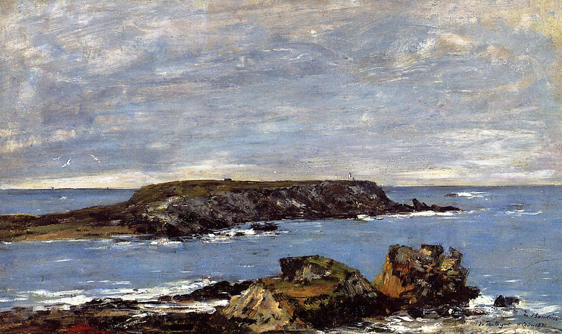 famous painting Camaret, The Toulinguet of Eugène Louis Boudin