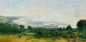 Eugène Louis Boudin - The Trouville Heights