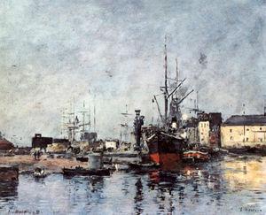 Eugène Louis Boudin - Untitled