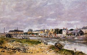 Eugène Louis Boudin - The Port of Trouville
