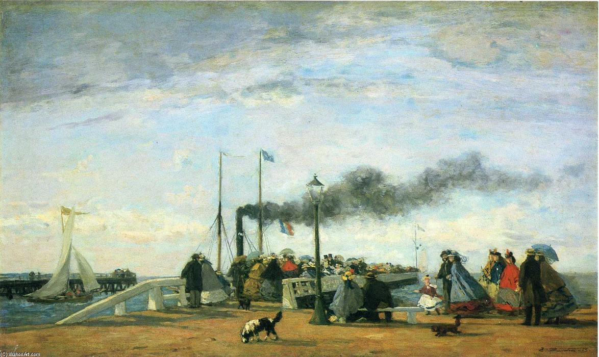 famous painting Untitled (8) of Eugène Louis Boudin