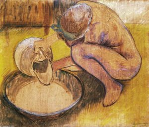 Federico Zandomeneghi - The washtub