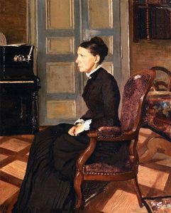 Felix Vallotton - The Artist`s Mother