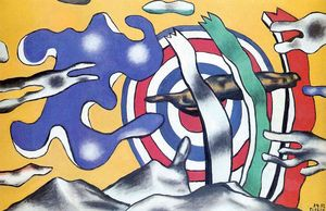Fernand Leger - The aircraft in the sky