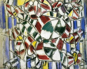 Fernand Leger - Geometric standards