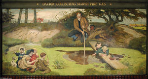 Ford Madox Brown - Dalton Collecting Marsh Fire Gas