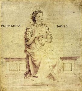 Fra Angelico - King David Playin a Psaltery