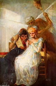 Francisco De Goya - Time of the Old Women