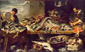 Frans Snyders - Fish Shop