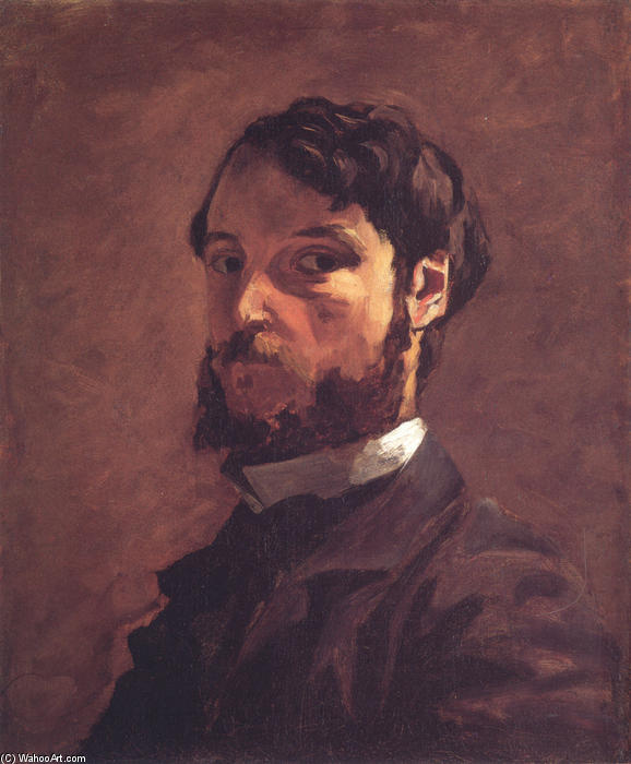 famous painting Self-Portrait of Jean Frederic Bazille