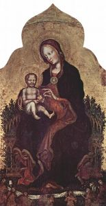 Gentile Da Fabriano - Madonna with Angels