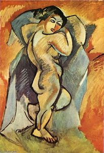 Georges Braque - Big Nude