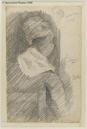 famous painting Female from back (black woman) of Georges Pierre Seurat