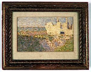 Georges Pierre Seurat - Ruins at Grandcamp