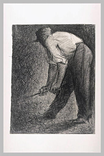 famous painting Stone crusher of Georges Pierre Seurat