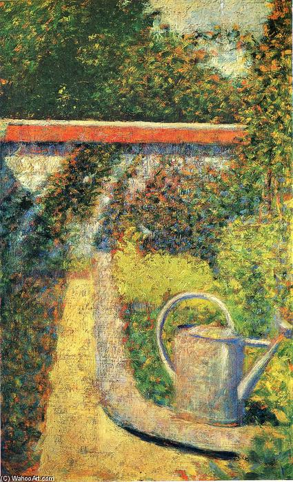 famous painting The Watering Can of Georges Pierre Seurat