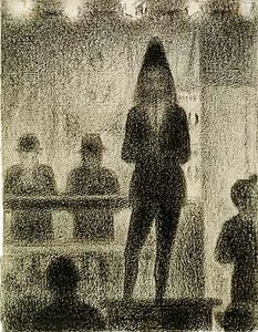 Georges Pierre Seurat - Trombone player