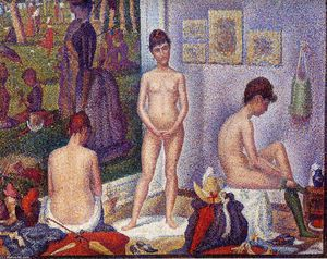 Georges Pierre Seurat - The Models