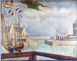 Georges Pierre Seurat - Sunday at Port-en-Bessin