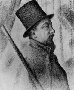 Georges Pierre Seurat - Portrait of Paul Signac