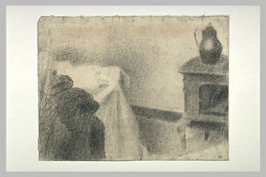 Georges Pierre Seurat - Part of the studio
