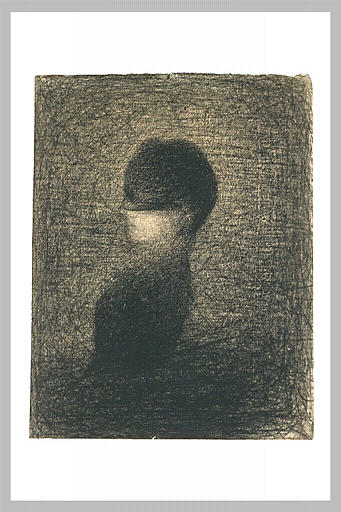 famous painting Voilette of Georges Pierre Seurat