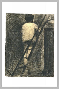 Georges Pierre Seurat - The Painter